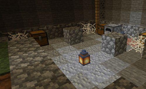 Мод More Underground Structures 1.16.5, 1.15.2, 1.14.4
