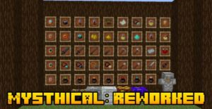 Мод Mysthical: Reworked 1.16.5