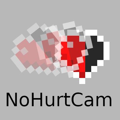 Мод NoHurtCam 1.16.5, 1.15.2, 1.14.4