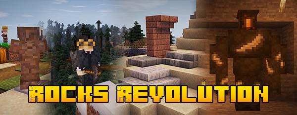 [Мод] Rocks Revolution [1.16.5] - улучшенные камни