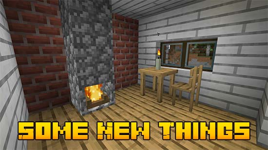 Мод Some New Things 1.16.5, 1.16.4