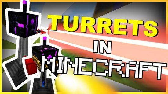 Мод Turret Mod Rebirth 1.12.2, 1.11.2, 1.7.10