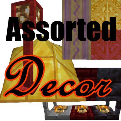 Мод Assorted Decor 1.16.5
