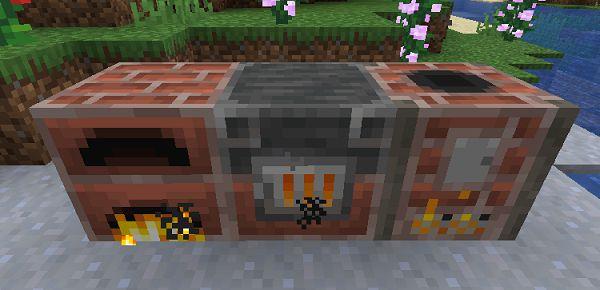 Мод Brick Furnace 1.16.5, 1.15.2, 1.14.4