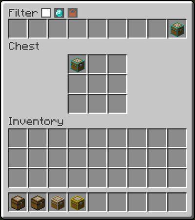 Мод Filtered Chests для Майнкрафт 1.16.5