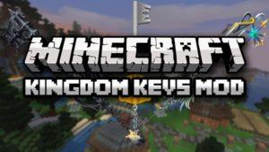 Мод Kingdom Keys 2 1.16.5, 1.15.2, 1.12.2