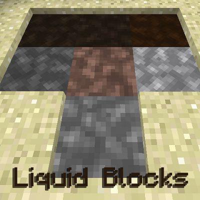 Мод Liquid Blocks 1.16.5, 1.12.2