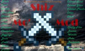 Мод Mo' Shiz 1.15.2, 1.14.4, 1.12.2, 1.7.10 - куча новых блоков и предметов