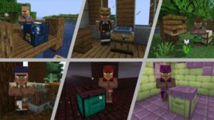 Мод More Villagers 1.17.1, 1.16.5