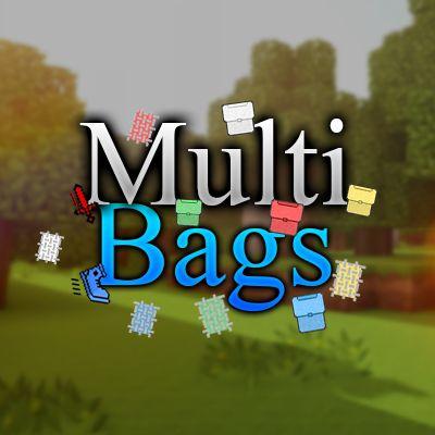 Мод MultiBags 1.16.5, 1.13.2, 1.12.2