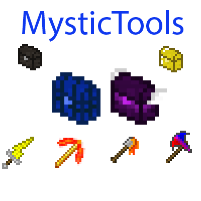 Мод Mystic Tools 1.16.5, 1.15.2, 1.12.2