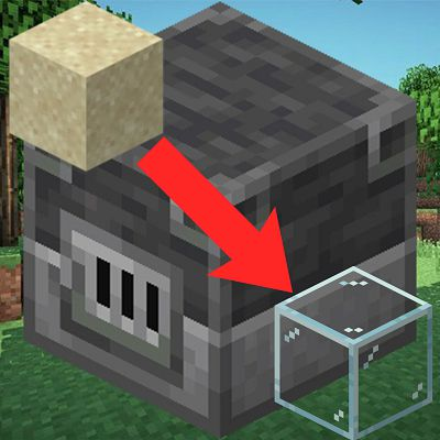 Мод Smelting sand in blast furnace 1.16.5