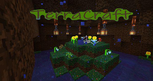 Мод TerraCraft Journey 1.16.5, 1.15.2