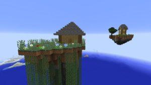 Мод Soaring Structures 1.16.5, 1.15.2, 1.12.2 (парящие острова)