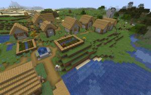 Деревня, руины и аванпост 1.16.5