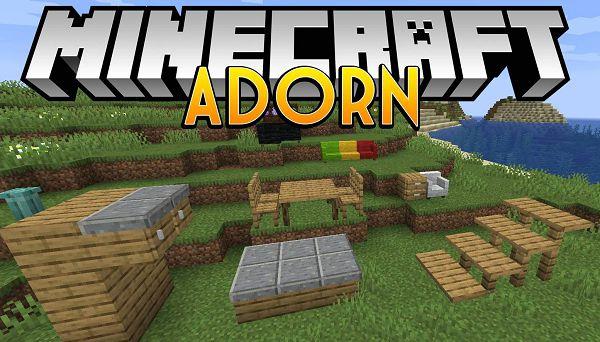 Мод Adorn 1.16.5, 1.15.2, 1.14.4