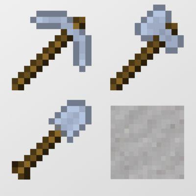 Мод Balanced Clay Tools 1.16.5 (инструменты из глины)