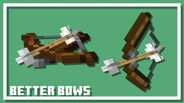 Текстурпак Better Bows and Crossbows 1.16.5