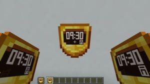 Текстур-пак Digital Clock 1.17
