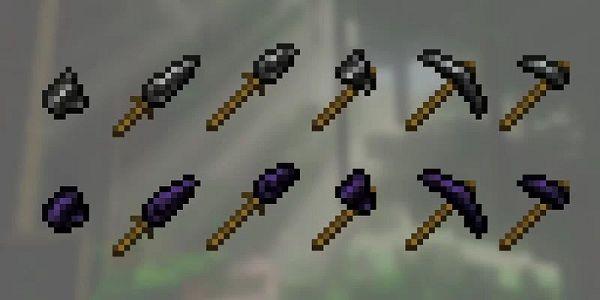 Мод Flint And Obsidian Tools 1.16.5