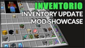 Мод Inventorio для Майнкрафт 1.16.5