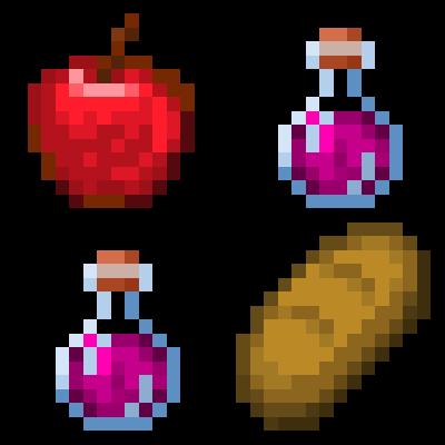 Мод Potion Foods для Майнкрафт 1.16.5