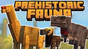 Мод Prehistoric Fauna для Майнкрафт 1.15.2