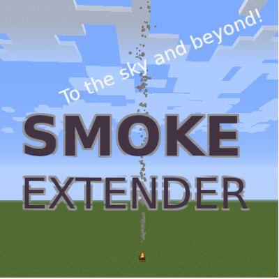 Мод Smoke Extender 1.17, 1.16.5, 1.15.2, 1.14.4
