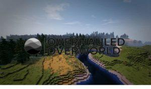 Мод William Wythers Overhauled Overworld 1.17, 1.16.5