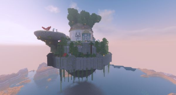 Мод на летающие замки - Castle in the Sky 1.16.5