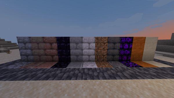 Мод More Block Bricks 1.17.1