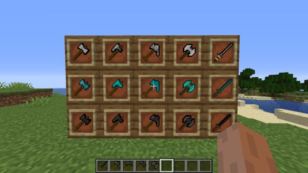 Мод Additional Tools 1.16.5