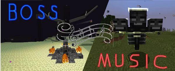 Мод Boss Music для Майнкрафт 1.16.5