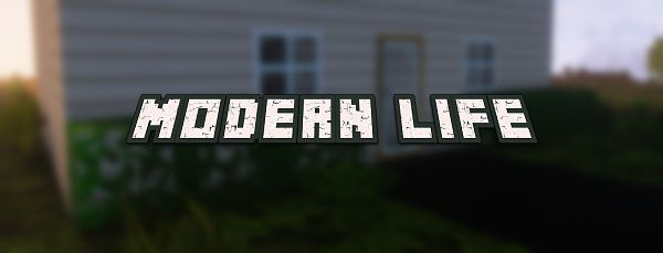 Мод Modern Life для Майнкрафт 1.16.5