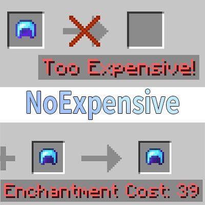 Мод No Expensive 1.17, 1.16.5, 1.15.2, 1.12.2