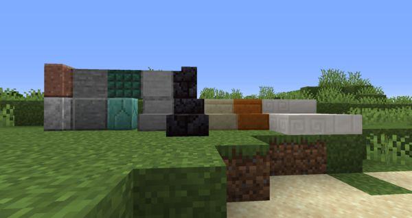 Мод Vanilla Block Variants 1.17.1, 1.16.5