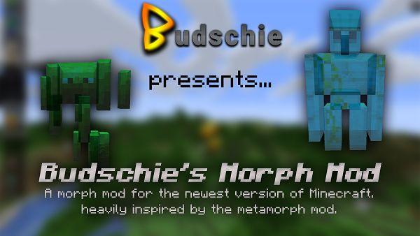 Мод Budschie's Morph 1.16.5
