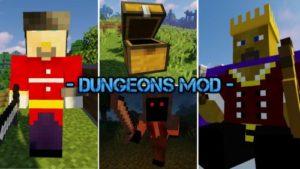 Мод Dungeons 1.16.5, 1.15.2, 1.12.2