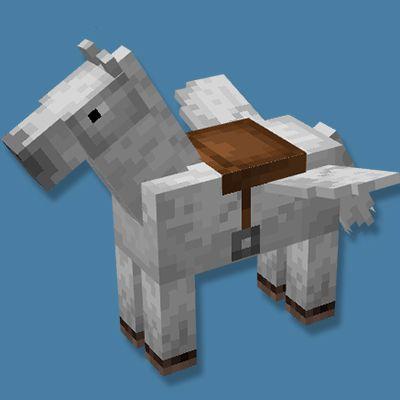 Мод Flying Horse для Майнкрафт 1.16.5
