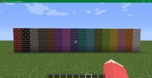 Мод Colored Bricks 1.17.1, 1.16.5