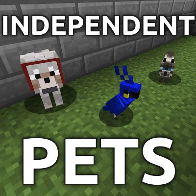 Мод Independent Pets 1.17.1, 1.16.5, 1.12.2