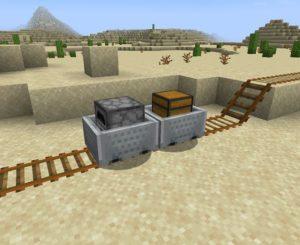 Мод Logistical Mining для Майнкрафт 1.17.1