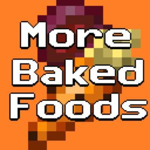 Мод More Baked Foods 1.17.1, 1.16.5
