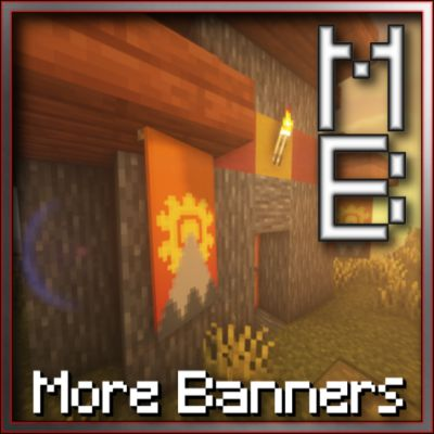 Мод More Banner Features 1.17.1