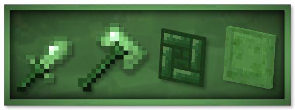 Мод Slimy Stuff для Майнкрафт 1.16.5