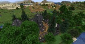 Мод The Graveyard 1.17.1, 1.16.5
