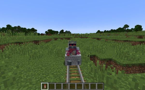 Мод Rocket Minecarts для Майнкрафт 1.17.1