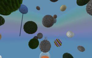 Мод Starry Skies 1.17.1, 1.16.5 (измерение из сфер)
