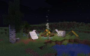 Мод Cozy Camps для Майнкрафт 1.17.1
