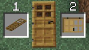 Мод Fallen Doors 1.12.2 (горизонтальные двери)